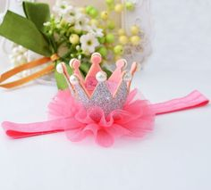 Headband with Crown!