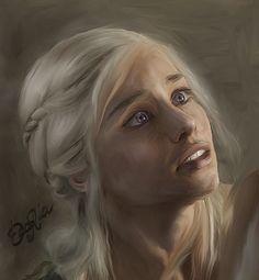 Game of Thrones - Daenerys by ~DaaRia on deviantART