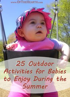 25 Outdoor Activities for Babies to Enjoy During the Summer