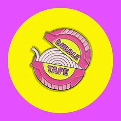 Bubble Tape pins available from #CandyDollClub - #JadeBoylan