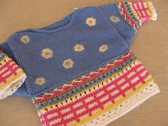 Colorful Baby Sweater by BoutiqueAngelika on Etsy, $43.00