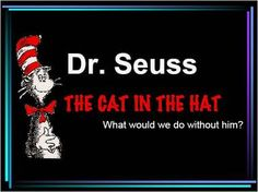 Great list of Dr. Seuss/Cat in the Hat activities and printables as well as other ideas for March.