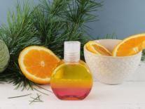Huile de douche aromatique triphasée