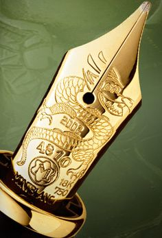Mont Blanc fountain pen, special theme edition, Quing dynasty