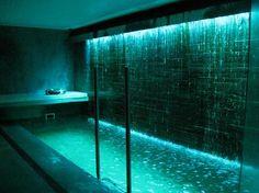 New Bathroom Spa Indoor Pools Ideas Luxury Swimming Pools, Luxury Pools, Indoor Swimming Pools, Dream Pools, Swimming Pool Designs, Lap Swimming, Hotel Swimming Pool, Swimming Pool Lights, Lap Pools