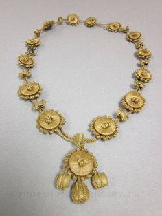 Hairwork necklace 1850-1890 Gift of Andrea Tice 2008.46.101
