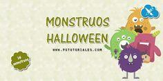 14 monstruos de Halloween   PS Tutoriales
