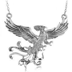 Just US$6.41, buy Unique Harry Potter Phoenix Shape Pendant Necklace For Women online shopping at GearBest.com Mobile.