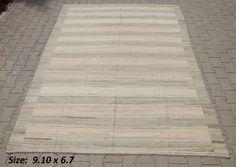 Size 6.7 x 9.10 - Moroccan Rug - Beni Ourain
