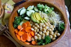 Easy Garden Skillet - Oh Sweet Basil - (healthy eating)- Carrian!