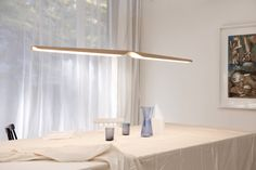 Illuminate your interior with our large selection of design and inspirational lighting. For indoor and outdoor. Bar Lighting, Interior Lighting, Lighting Design, Pendant Lighting, Lighting Ideas, Scandinavia Design, Suspension Design, Luminaire Design, Wood Design