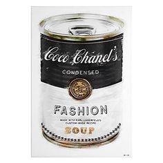 Fashion Soup by artist Oliver Gal