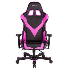 Clutch Chairz Premium Gaming/Computer chair, Black & Pink, 1-pack