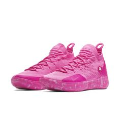watch 089cb 58f63 Nike Zoom KD11 Aunt Pearl Basketball Shoe - Pink Basketball Shoes, Nike Zoom,  Air