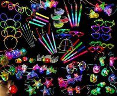 Cotillón Luminoso Combo 371 Artículos!!!! 180 Personas Pack - $ 1.149,50