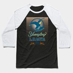 Yuengling Lager - Beer Logo - Baseball T-Shirt Lager Beer, Crew Neck Sweatshirt, T Shirt, Hoodies, Sweatshirts, Brewery, Tank Man, Shirt Designs, Baseball