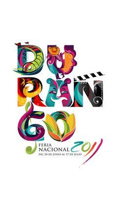 La Feria de Durango Mexico Love Design, Logo Design Inspiration, Print Design, Design Logos, Graphic Design, Flat Design, Festival Logo, Art Festival, Brand Packaging