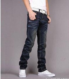 aa19e4e6f981 Men s Casual Jeans Butch Fashion