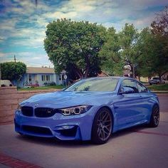 #BMW in blue is pretty awesome. Isn't it?