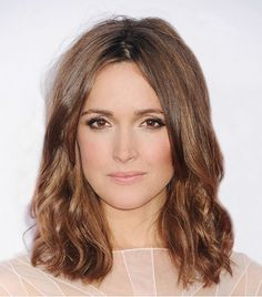 GET THE LOOK: ROSE BYRNE The Australian actress nails sweet-meets-edgy at the premiere of The Internship with textured hair, black eyeliner, and pink cheeks.