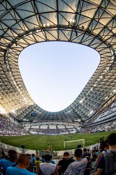 Velodrome Marseille, Presets Lightroom, European Football, France, Blog Voyage, Temples, Provence, Fair Grounds, Soccer