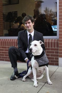 Dogs, cats and bunnies were at the Circuit Center for Animal Friends' Black Ties & Tails party.