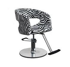 zebra black white salon styling chair hair equipment furniture hydraulic pump ebay beauty salon styling chair hydraulic