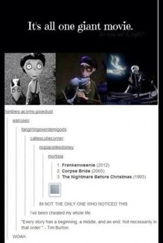 the nightmare before christmas quote | Tumblr