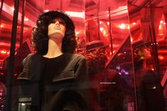 Chanel The Little Black Jacket windows at Bond street, London visual merchandising