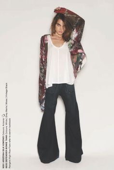 love this! Love the bohemian, 70's vibe you get from this outfit!