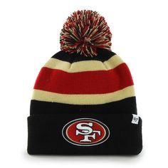the best attitude 1f086 7dd12 San Francisco 49Ers Breakaway Cuff Knit Black 47 Brand Hat