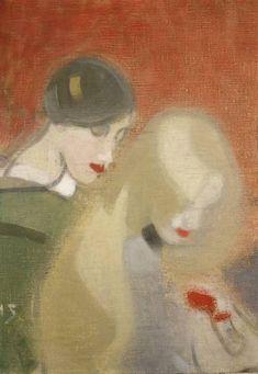 Helene Schjerfbeck,Jovenes (1915)