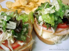 Claudia's Recipe: Turkey Cheese Sandwich