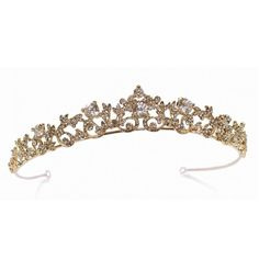 Ivory and Co Clementine Tiara (2.790 ARS) ❤ liked on Polyvore featuring accessories and hair accessories