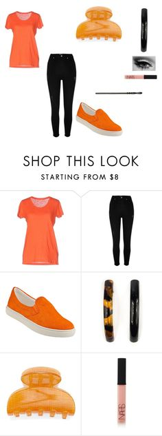 """""""Mandy Brocklehurst: Halloween"""" by bookprincess-313 on Polyvore featuring Majestic, River Island, Steve Madden, Carole, France Luxe and NARS Cosmetics"""