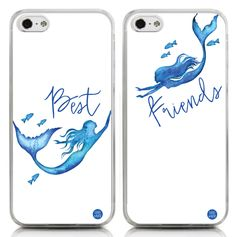 "Best Friends Case - Mermaids (""Best"" Side) - Cases by Kate"