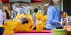 Pre-Game Sangria with SMIRNOFF ICE™ SCREWDRIVER FLAVORED MALT BEVERAGE