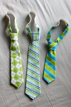 Cute toddler neck tie tutorial! - Click image to find more diy & crafts Pinterest pins