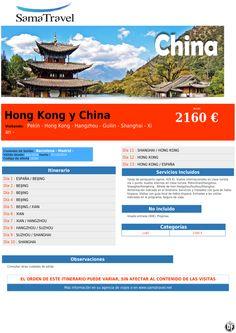 Hong Kong y China desde 2160 € ultimo minuto - http://zocotours.com/hong-kong-y-china-desde-2160-e-ultimo-minuto/