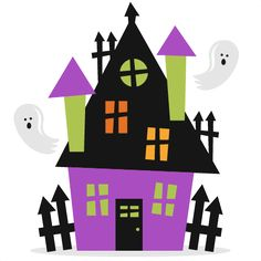 halloween miss kate cuttables product categories scrapbooking rh pinterest com halloween clip art haunted house haunted house clipart png
