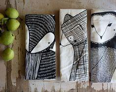 Dog Tea Towel Bundle, Dog Dishcloths, Dog Kitchen Towels, Home Essentials, Gifts…