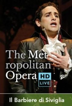 Metropolitan Opera HD Live - The Barber of Seville, Juan Diego Florez.  We saw this with our good friends, Debbie and Dennis.  :)