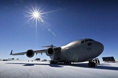 Antarctica - new milestone for RAAF C-17
