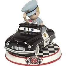 Disney Precious Moments Cars - Sheriff