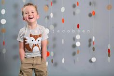 Flynn the handsome fox by bchildrenswear. #thevanillabeanblog
