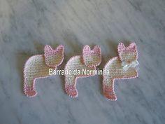 Ponto Preso1: Croche - Outros gatos . . .