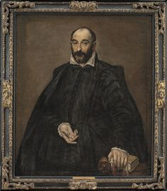 El Greco: Portrait of Andrea Palladio, architect, for more please visit http://painting-in-oil.com/artworks-El-Greco-page-1-delta-ALL.html
