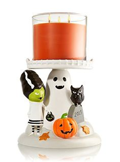 Bath and Body Works Candle Pedestal Holder Halloween 2015 -- Details can be found by clicking on the image.