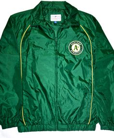 Vintage A's Oakland Athletics Mens Jacket available at VintageMensGoods, $38.00
