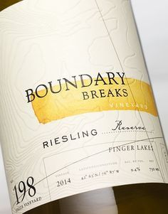 CF Napa Brand Design - Boundary Breaks Vineyard - CF Napa